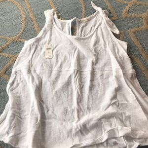 "Anthropologie ""pure good"" flows tank"
